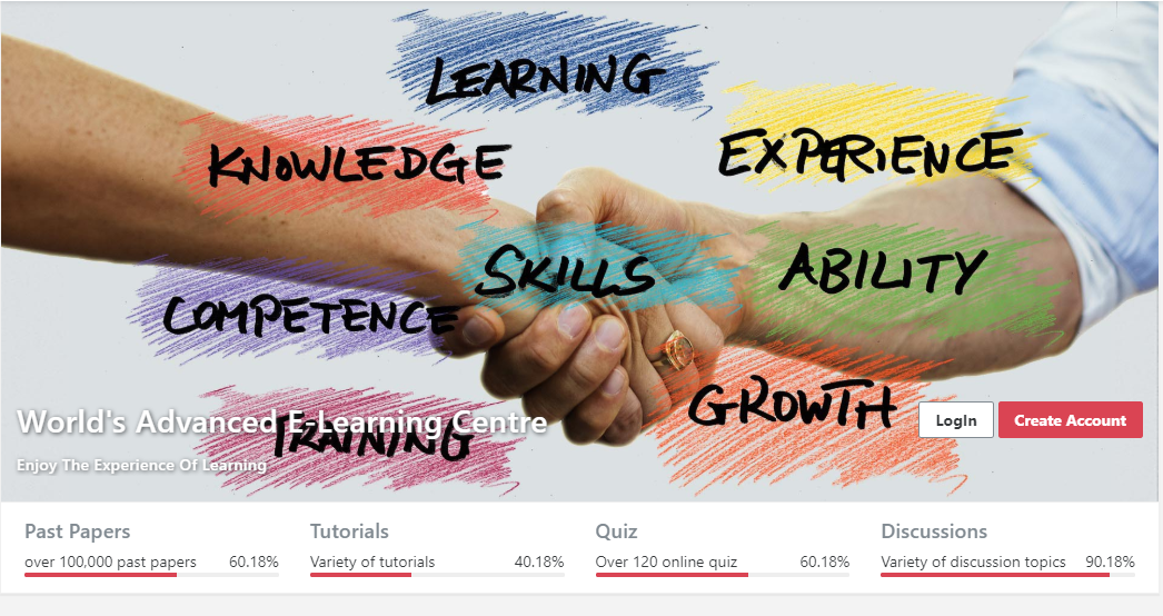Tutor View E-learning platform